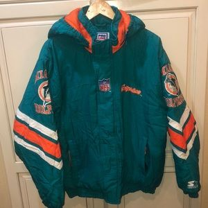 Miami dolphins vintage pro line starter jacket